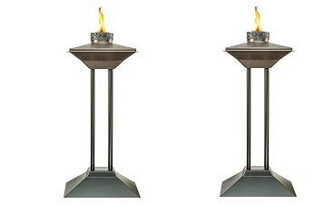 Amazon.com: Tiki Brand 28-Inch Cordoba Metal Patio Torch ...