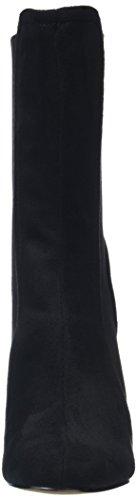 Classiques Micro Noir Elastic Bottes Midi Black Femme Boohoo Sock 6Ow4q
