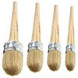 Best Brush For Chalk Paints - 4 PCS Chalk Paint Wax Brush Set – Review