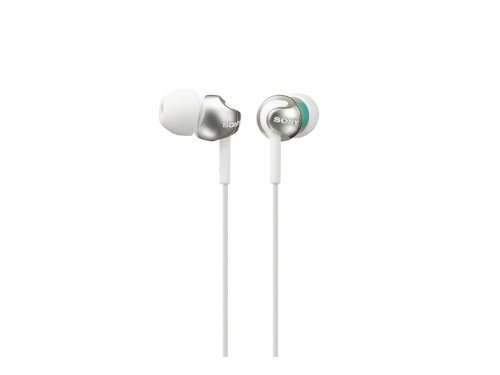 Sony MDR-EX110LP EX Monitor In-Ear-Headphone (Whit...