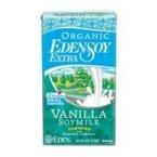 Edensoy Organic Extra Vanilla Soymilk, 32 Ounce - 12 per (Extra Vanilla Soy Milk)