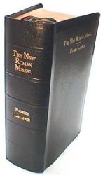 - New Roman Missal in Latin and English.