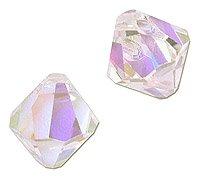 Swarovski Crystal Bicone Pendant 6301 8mm Crystal AB (Package of 1)