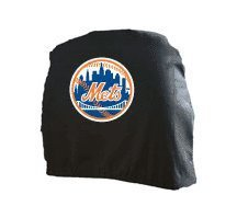 MLB New York Mets Head Rest Covers, 2-Pack ()
