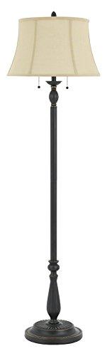 60W X 2 Barnwell Metal/Resin Floor Lamp