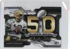 Aaron Rodgers (Football Card) 2015 Topps Chrome Mini - Super Bowl 50 Die-Cut #SBDC-AR