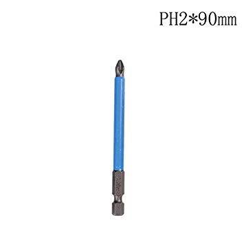 Sellify Destornillador PH2 Anti Slip ElectricBit Conjunto BitsShank ...