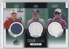 Natalie Gulbis; Stacy Lewis; Cristie Kerr (Trading Card) 2014 SP Game Used Edition - Tour Gear Trios - Shirt #TG3-GKL