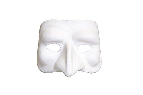 Artemio Maschera per il viso di alta qualità in gesso per decorare 14030019