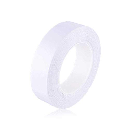 The Reusable Adhesive Silicone Tape,Multi-Functional Anti-Slip Double Sided Sticky Strips,Universal Anti-Slip Gel Pads Sticky Tape,Gel Tape Roll Wall Stickers 5 Meter/16.5 Foot Long
