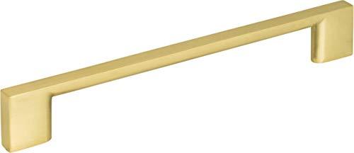 Jeffrey Alexander 635-160BG Sutton Collection Pull, Brushed ()