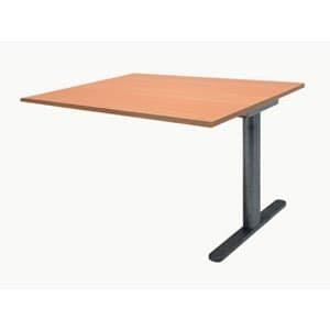 Garage ミーティングテーブル fantoni 連結用 GT-169H-Z 幅160cm 奥行き90cm 木目 B015XL8S5O