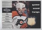 Twig Deck (John LeClair (Hockey Card) 2000-01 Upper Deck Heroes - Game Used Twigs #T-JL)