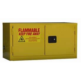 - Stackable Flammable Cabinet, Self Close Double Door 11 Gal, 34