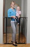 #10: Regalo Deluxe Easy Step Extra Tall Gate, Black