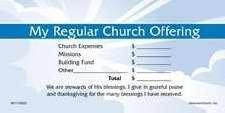 Offering Envelope - My Regular Church Offering Stock Set (Offering Envelopes For Church)