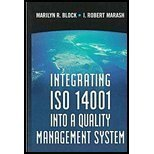 Integrating ISO 14001 into a Quality Management System, Block, Marilyn R. and Marash, I. Robert, 0873893999