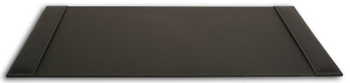 Dacasso Rustic Black Desk Pad with Side-Rails, 34 by 20-Inch by Dacasso