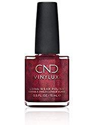 CND Vinylux - Esmalte de uñas semanal, color lava, color oscuro