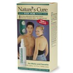 Nature's Cure 2-Part Body Acne Treatment System, 1 Month Supply