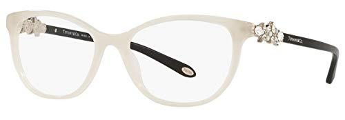 Tiffany & Co. TF 2144-HB Eyeglasses for Women Prescription Frame (Opal Ivory 8251, 52) (Discount Glasses Frames)