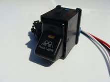 Jeep TJ Rocker Switch- Rock Lights Logo GCD