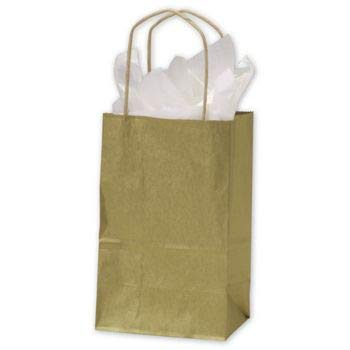Flexicore Packaging 10''x5''x13'' - 50 Pcs Brown Kraft Paper Bags. 95% POST CONSUMER MATERIALS & FSC CERTIFIED by Duro (Image #1)