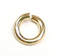 Dreambell 10 pcs 14k Gold Filled Round Open Jump Rings 5mm 18 Gauge 18ga Wire