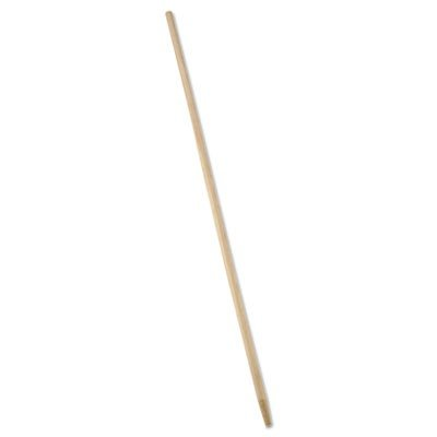 Rubbermaid Commercial Sanded Wood Handle with TapeRed Tip, 60-Inch Reach, Natural (FG636200NAT)