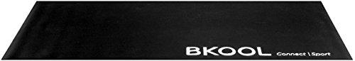 BKOOL Fahrrad- Rollentrainer Trainingsmatte, Schwarz, 39189190