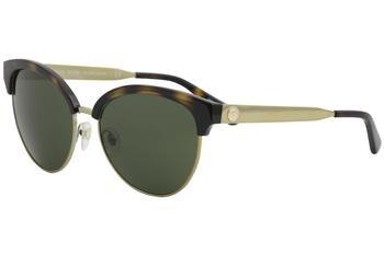 Michael Kors Womens Amalfi 0MK2057 56mm Dark Tortoise/Green Solid One - Kors Sunglasses Green Michael