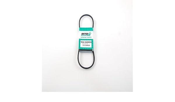 MTD 954-04082A - Correa de transmisión para cortacésped ...