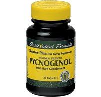 Nature's Plus – Pycnogenol 30 mg, 30 Vegetarian Capsules