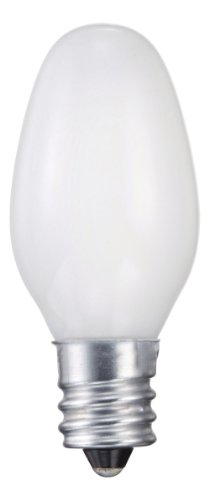 Philips 415471 Night Light 7-Watt C7 Candelabra Base Light Bulb, 2-Pack ()