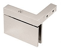 C.R. LAURENCE CAR05RSN CRL Satin Nickel Cardiff Series Right Hand Mount Hinge - Cardiff Series