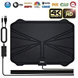 Skywire TV Antenna, 2018 Newest Version 4K Digital HDTV Antenna Kit Indoor with Amplifier Signal Booster, Receive HD...