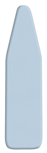 Utopia Home Premium Scorch Resistant Padded Ironing Board Cover - Extra Thick Padding - Heat Reflective - Silicone Coated Pad - 15 x 54 Inch - Light Blue - (Ironing Cover)