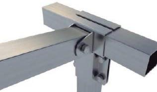 KIT Estructura Galva - Caseta Doble Plana - 4x2x2,5m (h): Amazon.es: Bricolaje y herramientas