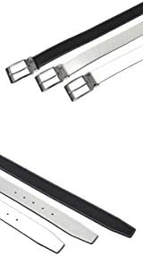 【サンタリート】 Santareet メンズ シボ柄 型押し PU ゴルフ ベルト IF-BT1917