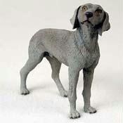 Weimaraner Original Dog Figurine (4in-5in)