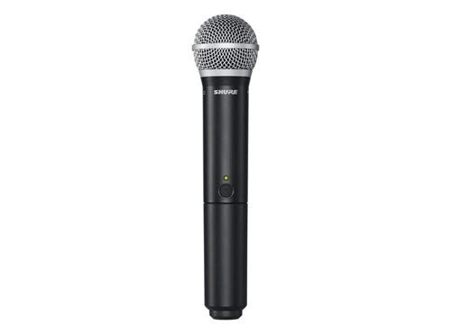 Shure BLX288/PG58 Dual Channel Wireless Handheld Microphone System with 2 PG58 Vocal Mics, H9 Band ( - http://coolthings.us