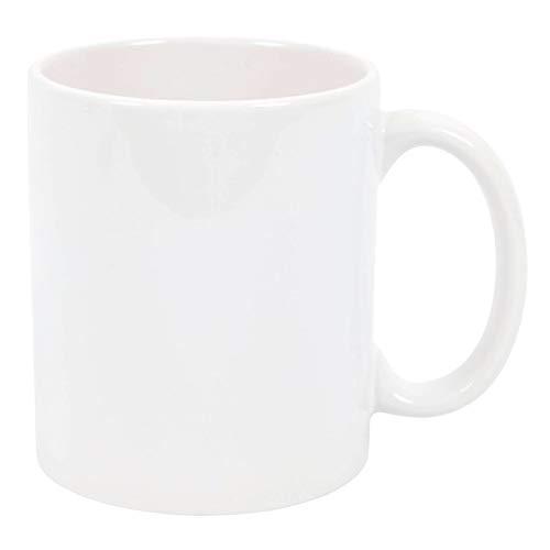 11 oz Sublimation Mugs Case of 36 Ceramic Blank Mugs by High Tide Mugs (Image #2)