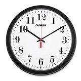- Lorell 60989 Wall Clock, 13-1/4