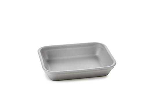 REVOL 651879/4 RPL1216N Set of 4 Individual Rectangular Dishes, Pepper by Revol