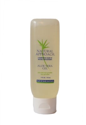 Natural Approach Aloe Vera Gel 4 ounces