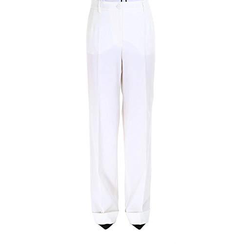 - Dolce e Gabbana Women's Ftam9tfuccsw0001 White Wool Pants