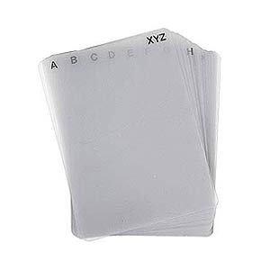 Discsox CD Pro Alphabet Dividers