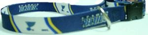 New! NHL Small St. Louis Blues Dog Collar