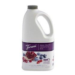 Torani Real Fruit Smoothie Blueberry Pomegranate Mix 64 oz by Torani