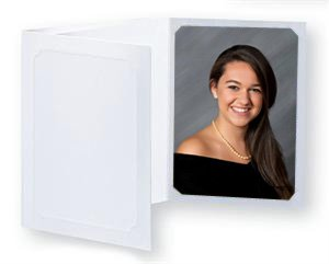 Simply White 4''x6'' / 5''x7'' Photo Folders - 400 pack. by STC